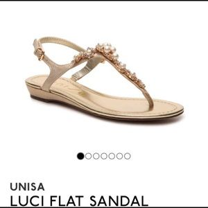 UNISA Luci Wedge Flat Sandal
